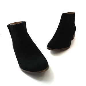 Lucky Brand Benissa Black Suede Booties 8